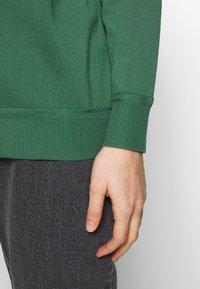 GANT - VNECK CARDIGAN - Cardigan - leaf green - 3