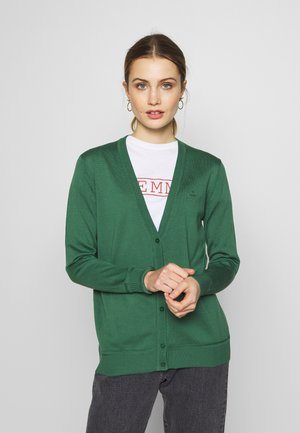 VNECK CARDIGAN - Vest - leaf green