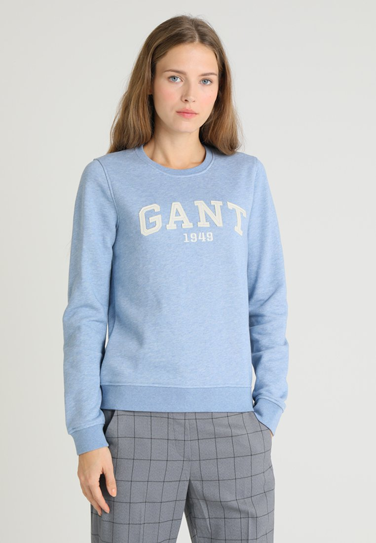 GANT - LOGO - Sweatshirt - light blue melange