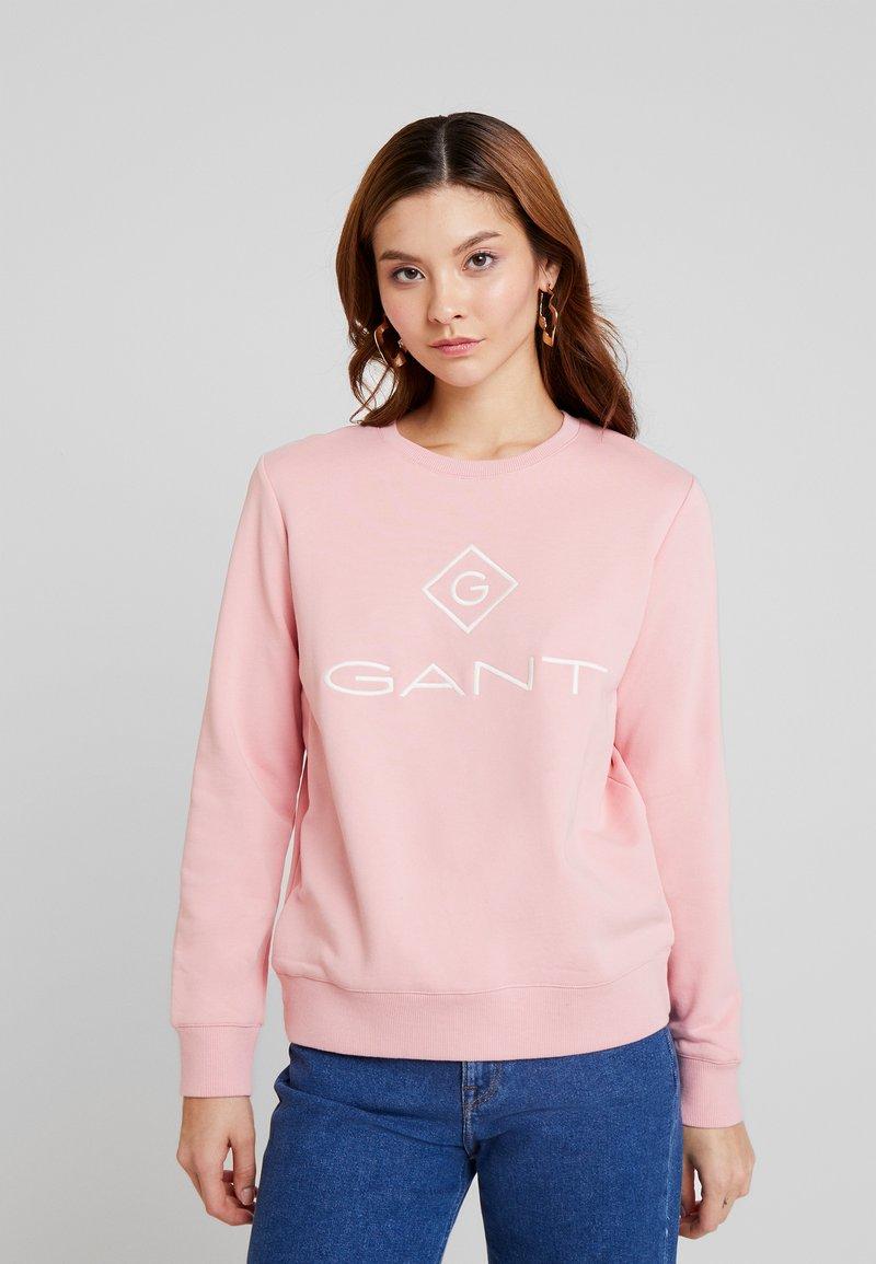 GANT - LOCK UP C-NECK - Sweatshirt - summer rose