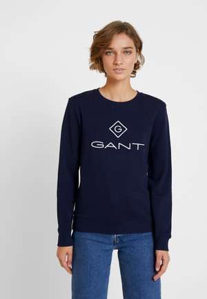LOCK UP C-NECK - Sweatshirt - evening blue
