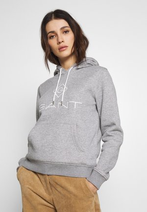 LOCK UP HOODIE - Sweat à capuche - grey melange