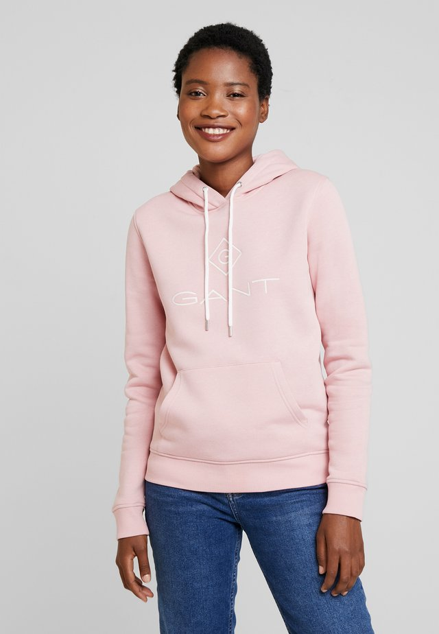 LOCK UP HOODIE - Jersey con capucha - summer rose