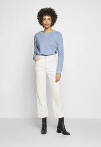 GANT - D2. SUNFADED C-NECK SWEAT - Sweatshirt - hamptons blue - 1