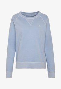 GANT - D2. SUNFADED C-NECK SWEAT - Sweatshirt - hamptons blue - 4