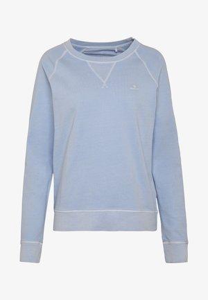 D2. SUNFADED C-NECK SWEAT - Mikina - hamptons blue
