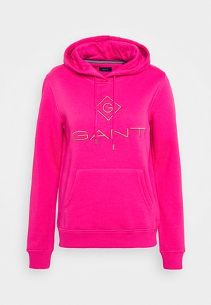 LOCK UP HOODIE - Sweat à capuche - rich pink