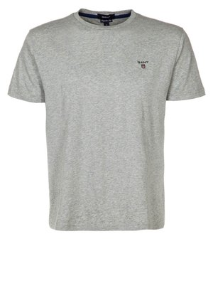THE ORIGINAL - T-shirt basic - hellgrau meliert