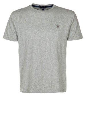 THE ORIGINAL - Jednoduché triko - hellgrau meliert