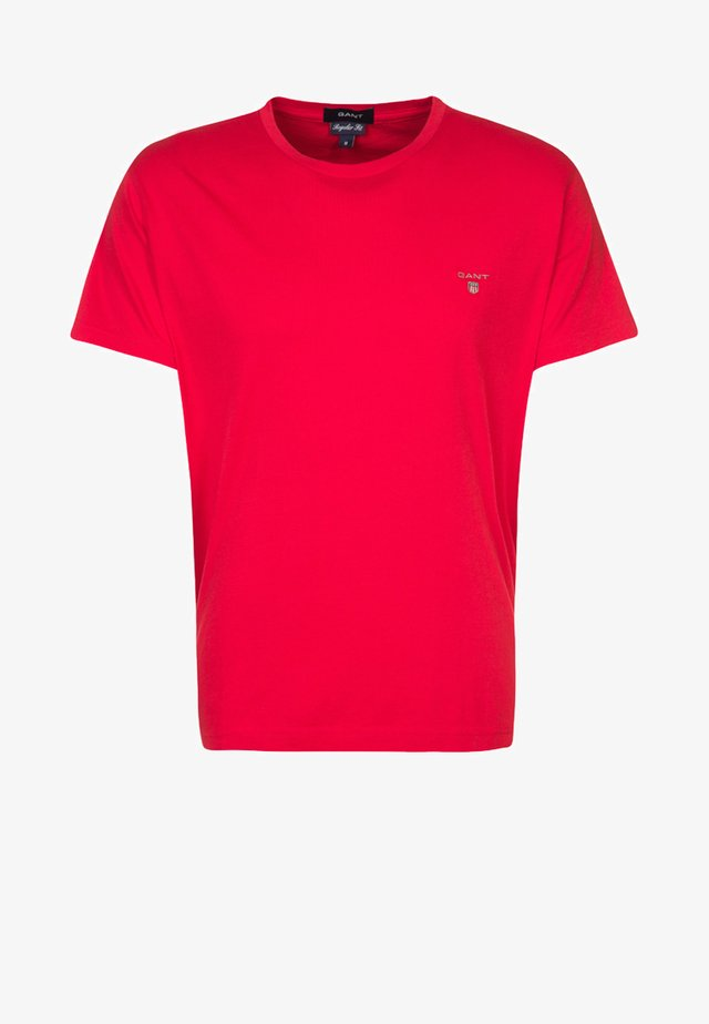 THE ORIGINAL - T-shirt - bas - bright red