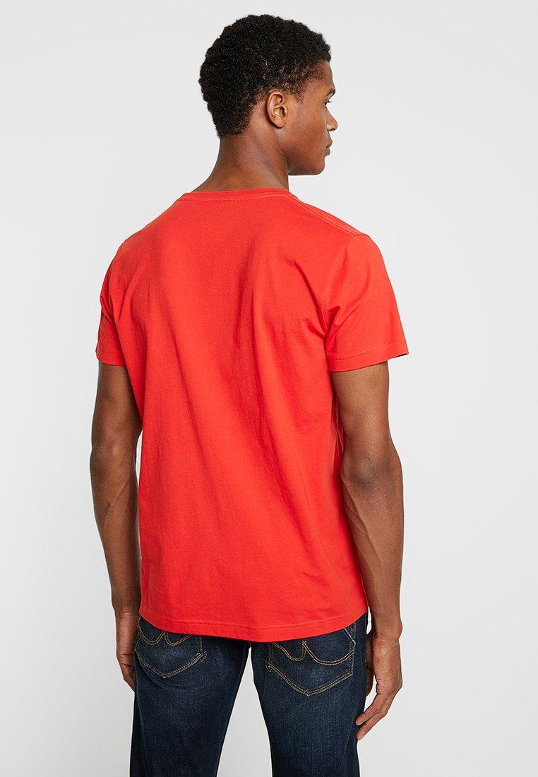 Gant Basic shirt Orange SolidT Blood b6yfvY7g