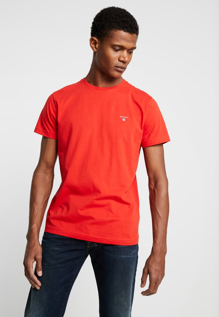 GANT - SOLID - T-Shirt basic - blood orange