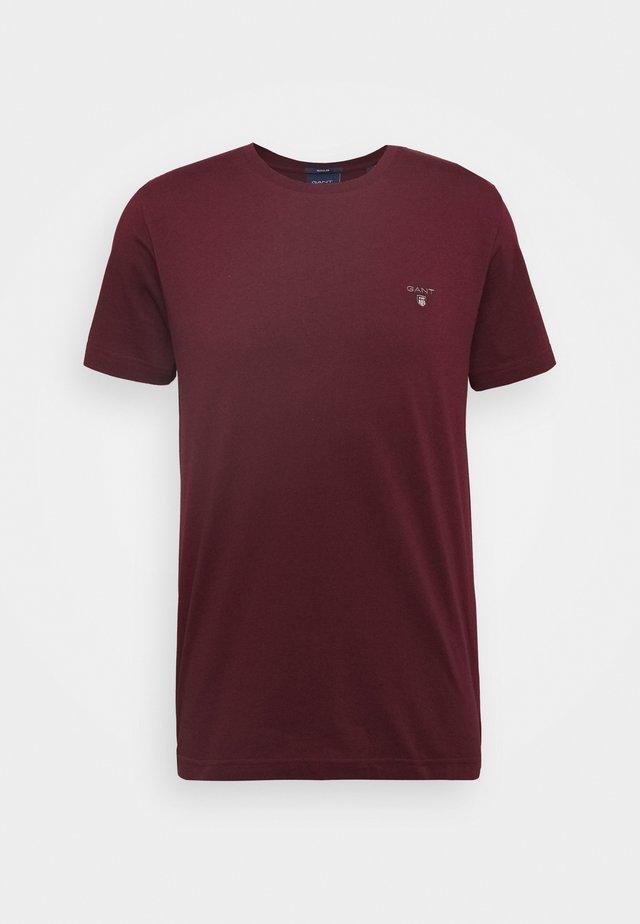 THE ORIGINAL - T-Shirt basic - port red