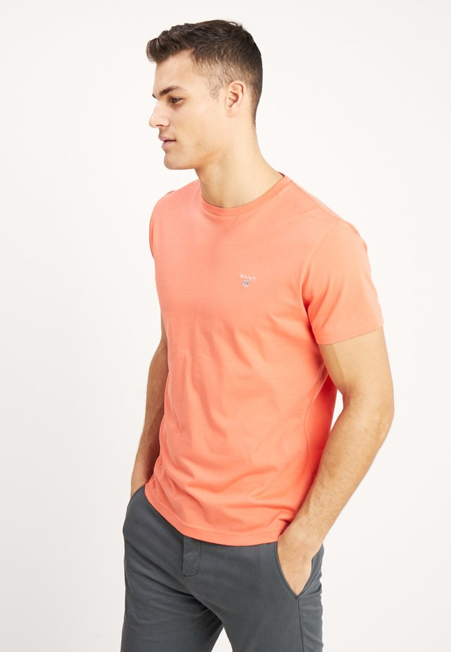 THE ORIGINAL - T-shirt - bas - coral orange