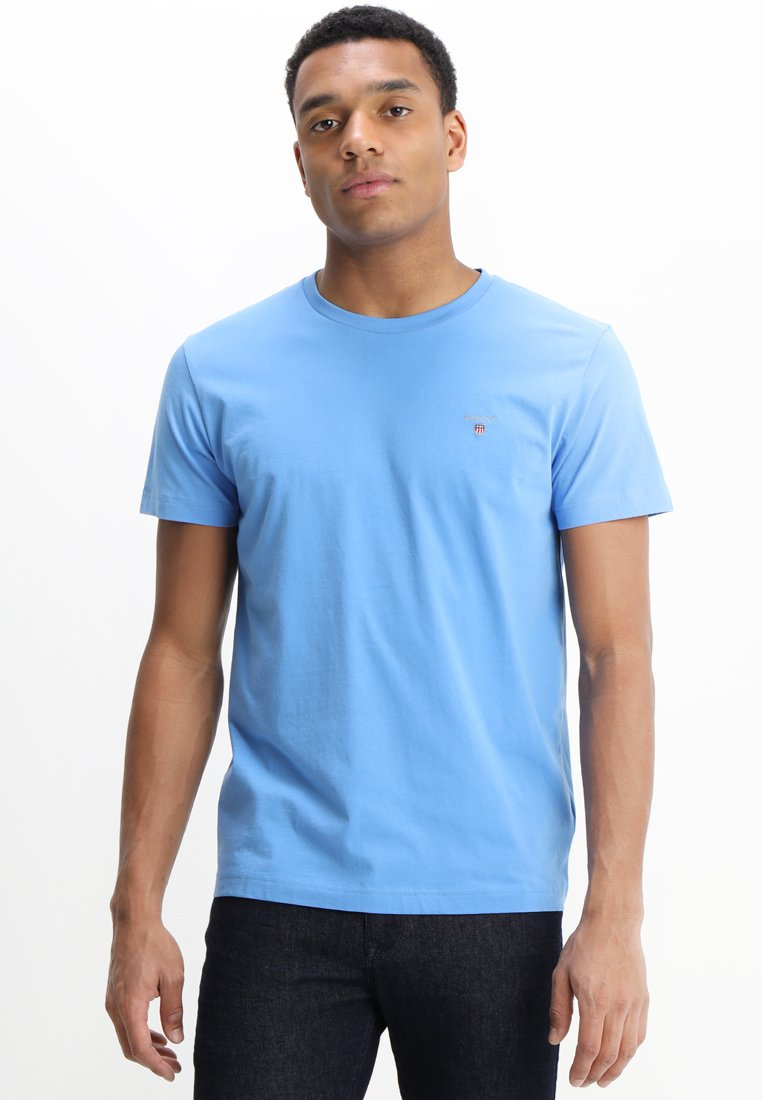 GANT - THE ORIGINAL - Jednoduché triko - pacific blue