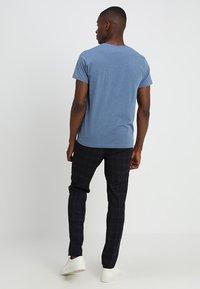 GANT - THE ORIGINAL - T-shirt basique - denim blue mel - 2