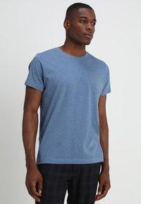 GANT - THE ORIGINAL - T-shirt basique - denim blue mel - 0