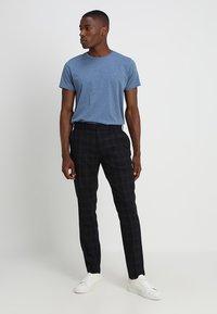 GANT - THE ORIGINAL - T-shirt basique - denim blue mel - 1