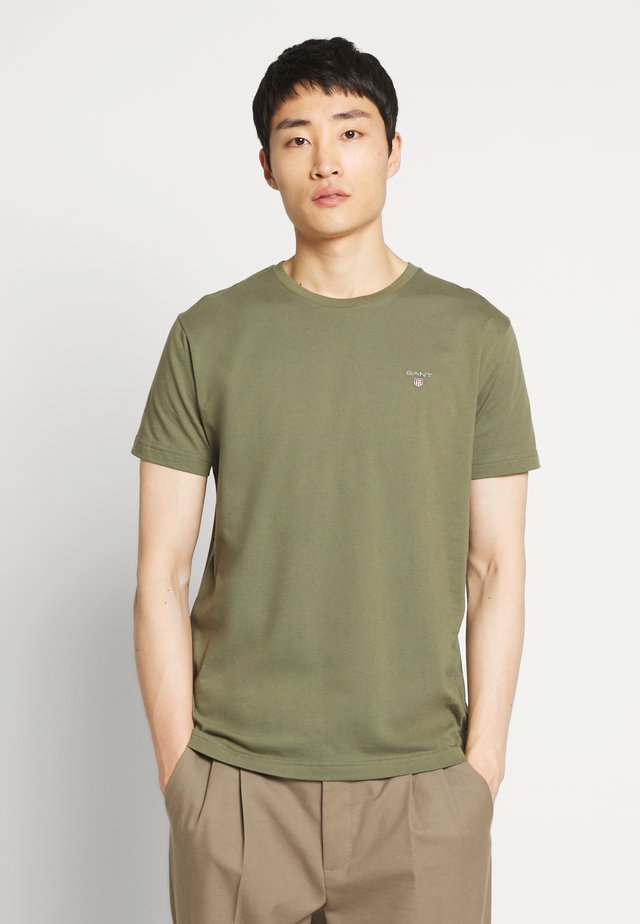 THE ORIGINAL - Basic T-shirt - olive