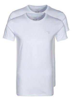 2 PACK - Undershirt - white