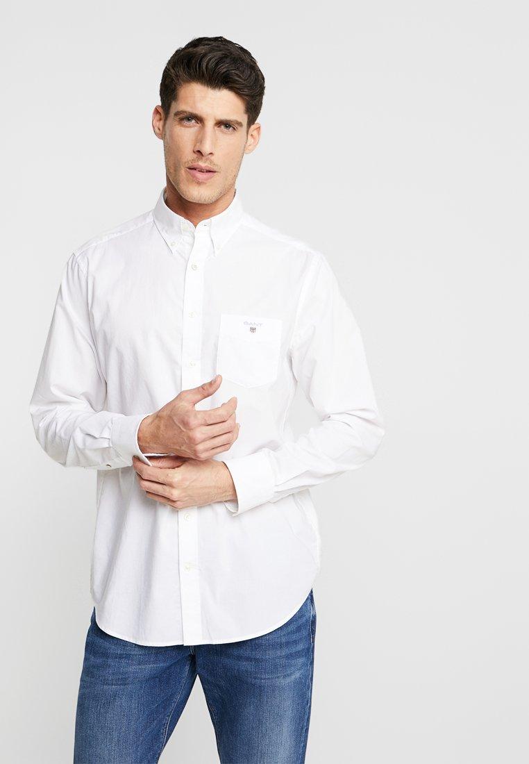 GANT - THE BROADCLOTH - Skjorte - white