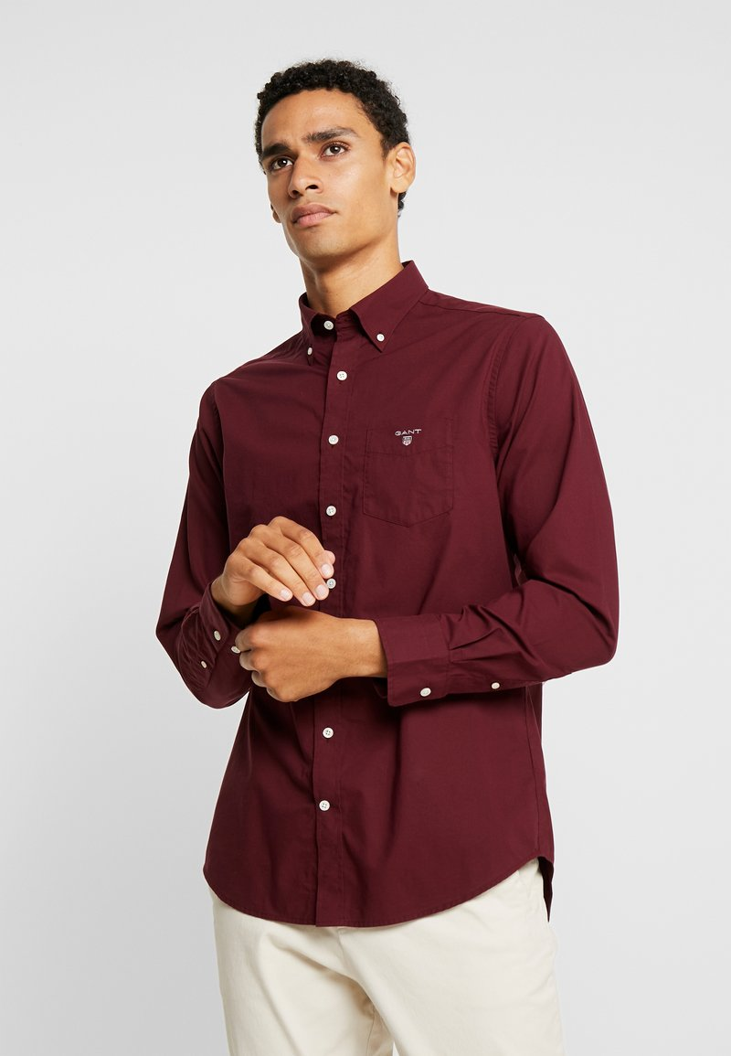 GANT - THE BROADCLOTH - Shirt - port red