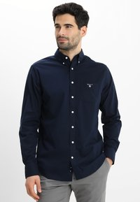 GANT - THE BROADCLOTH - Skjorta - navy - 0