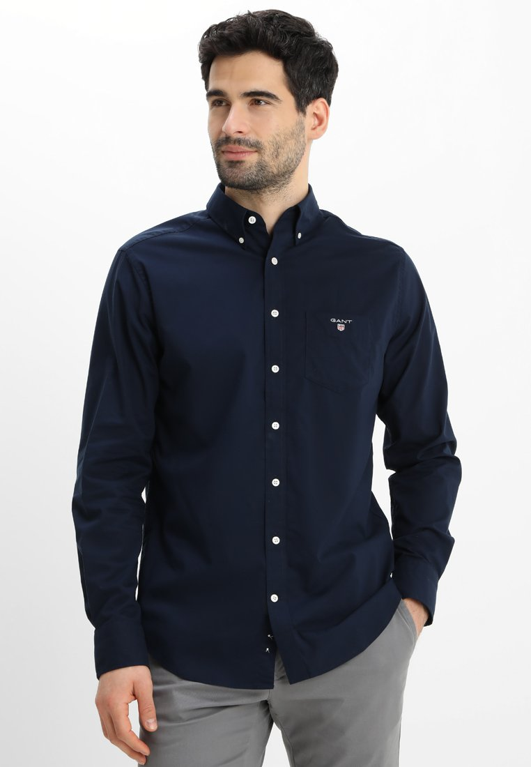 GANT - THE BROADCLOTH - Skjorta - navy