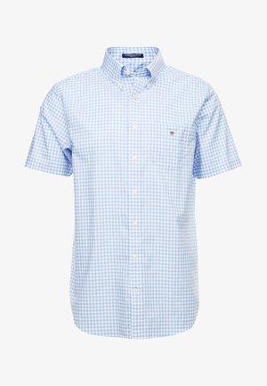 BROADCLOTH GINGHAM SLIM - Shirt - capri blue