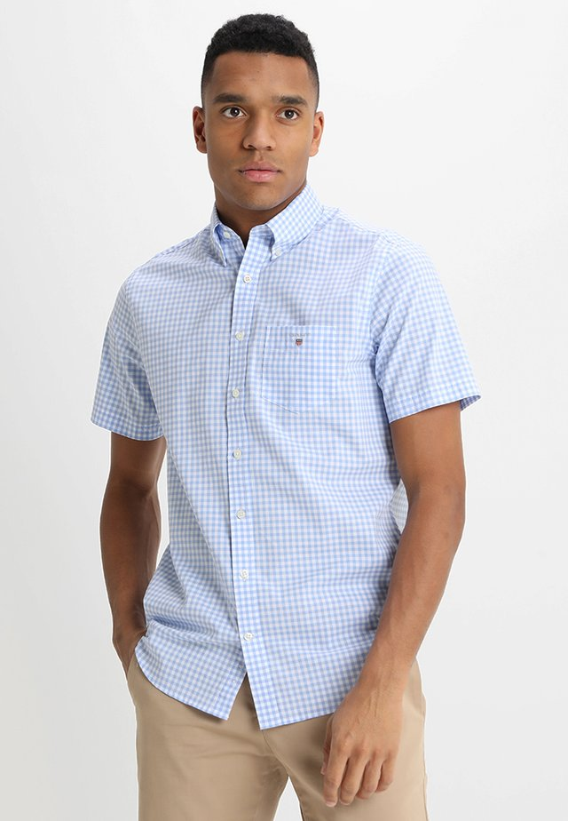 BROADCLOTH GINGHAM SLIM - Shirt - capri blue