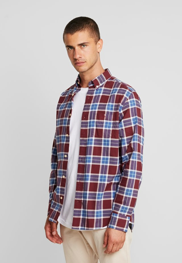 BLACKWATCH REGULAR FIT - Camisa - port red