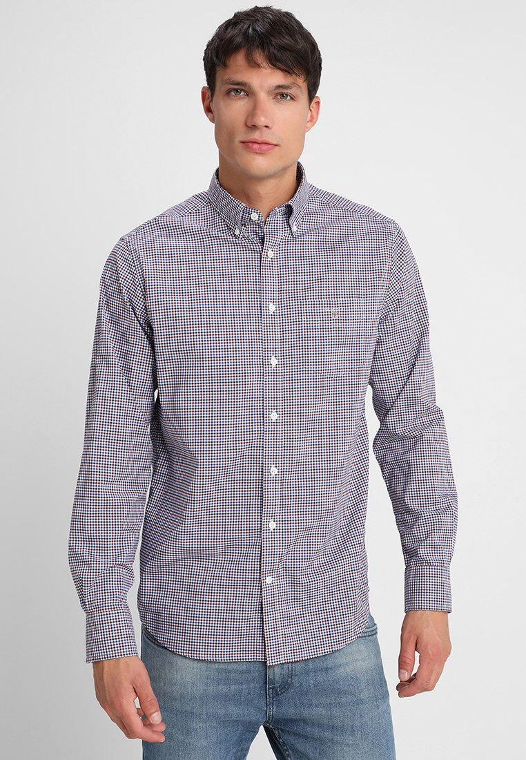GANT - BROADCLOTH GINGHAM REGULAR FIT - Shirt - rhododendron