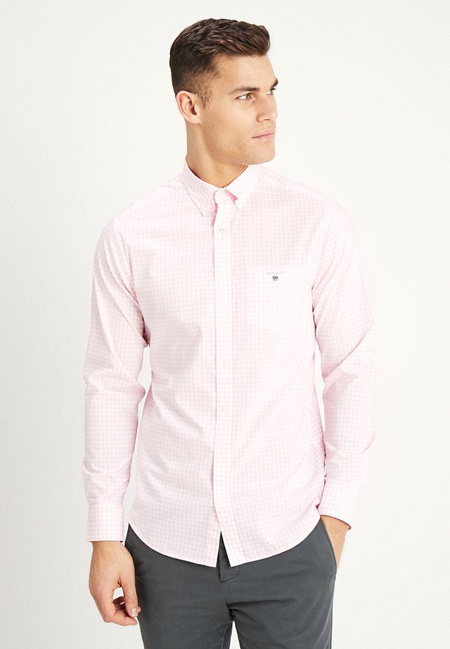 THE BROADCLOTH GINGHAM - Camisa - shadow rose