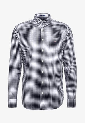 THE BROADCLOTH GINGHAM - Camicia - marine