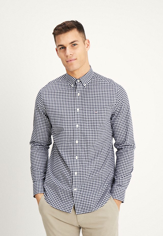 THE BROADCLOTH GINGHAM - Shirt - marine