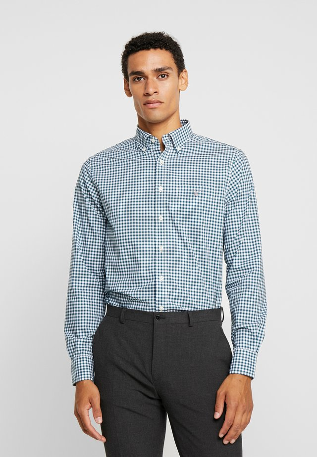 THE BROADCLOTH GINGHAM - Camisa - atlantic deep