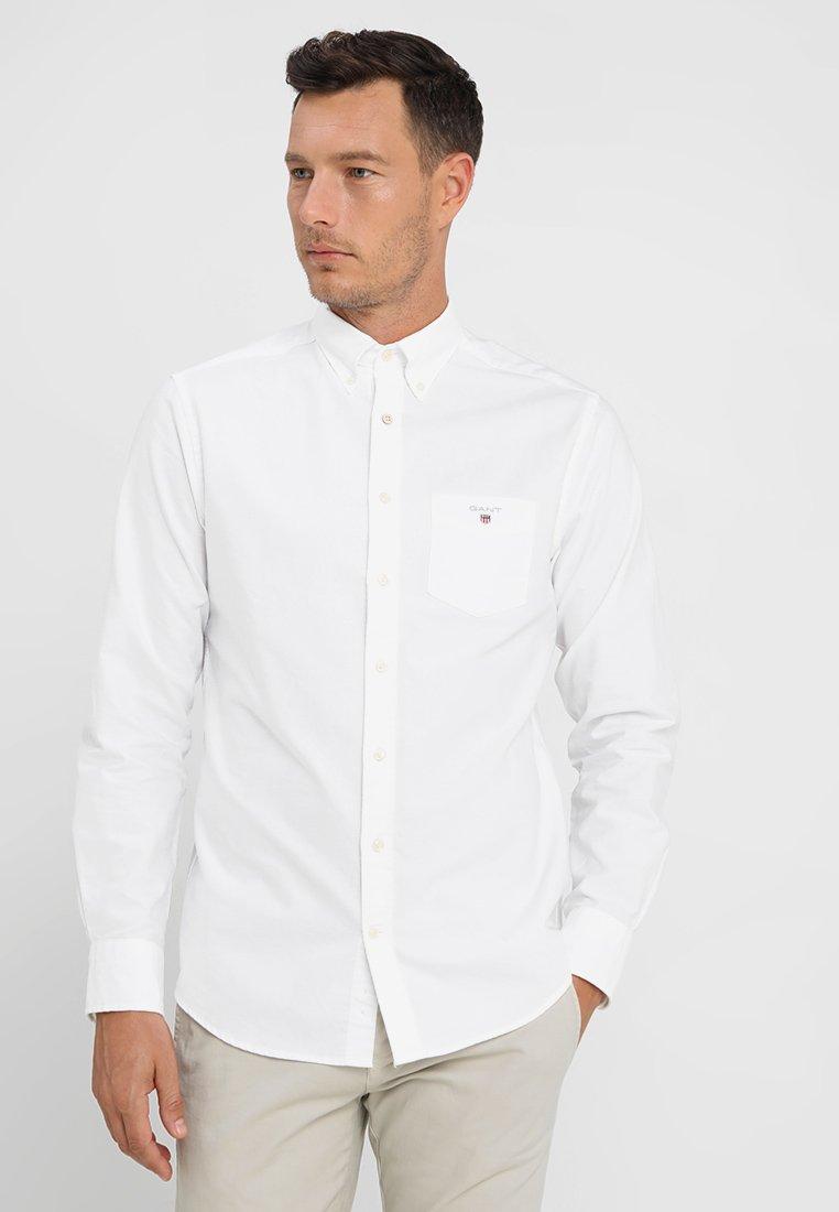 GANT - THE OXFORD - Skjorta - white