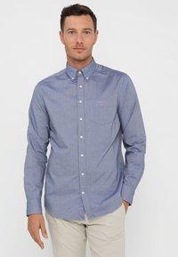 GANT - THE OXFORD - Shirt - evening blue - 0
