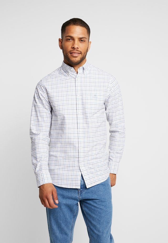 THE BEEFY OXFORD CHECK REGULAR FIT - Skjorta - mid blue