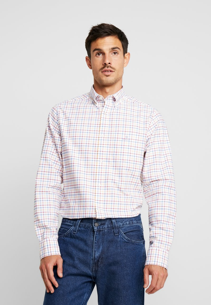 GANT - THE BEEFY OXFORD CHECK REGULAR FIT - Hemd - red