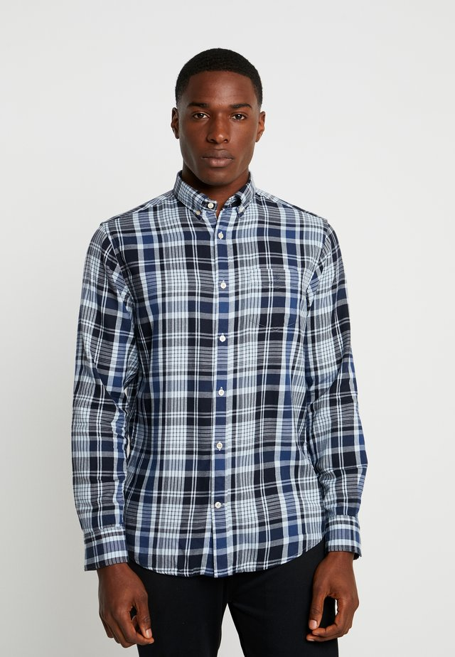 WINDBLOWN PLAID - Shirt - marine