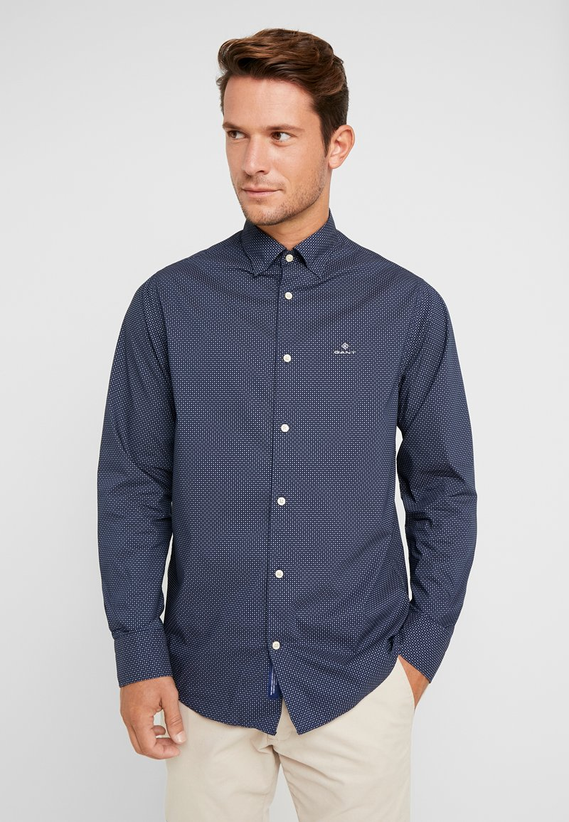 GANT - REGULAR FIT - Skjorte - marine