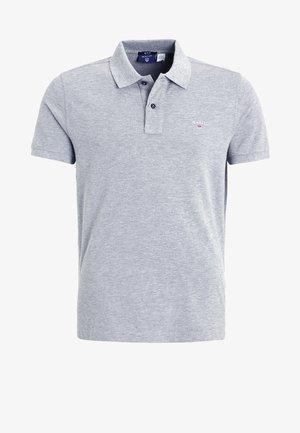 SOLID RUGGER - Poloshirt - grey melange