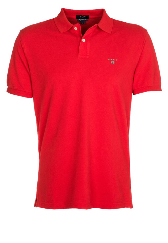 SOLID RUGGER - Poloshirt - bright red
