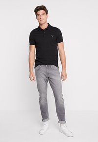 GANT - SOLID RUGGER - Polo - black - 1
