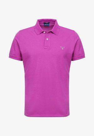 SOLID RUGGER - Polo shirt - purpur