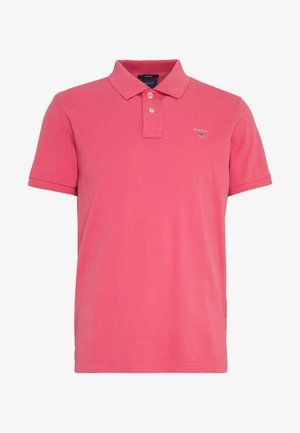 SOLID RUGGER - Polo shirt - bright pink