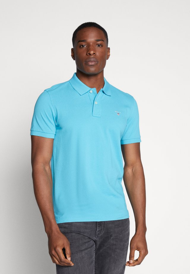THE ORIGINAL RUGGER - Polo - light blue