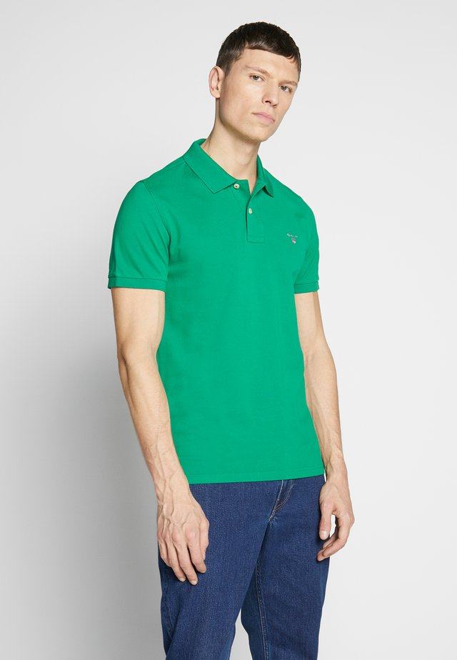 SOLID RUGGER - Polo - kelly green