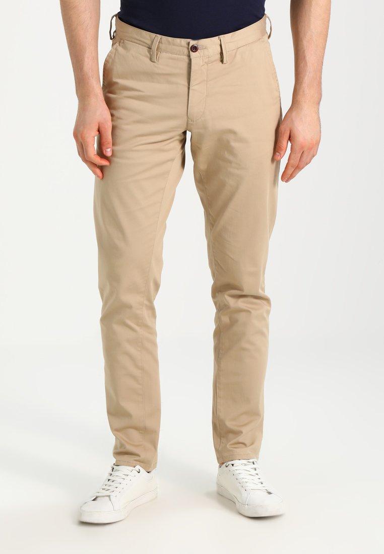 GANT - Kalhoty - khaki